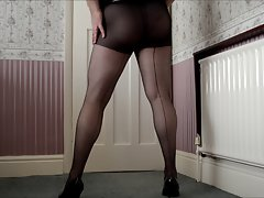 Heels & Nylons and a Cock..!