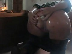 Big titted PAWG butthole games in church