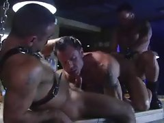 leather Bar threeway