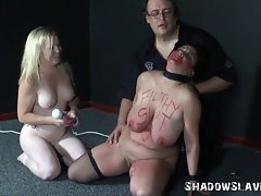 Lez slaves bizarre insertions and horny domination