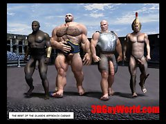 Gay Olympic Games Funny 3DGay Cartoon Anime 3D Comics Joke
