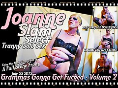 JOANNE SLAM - SELECT Transsexual SOLO SEX