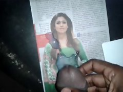 My Cum Tribute to my stunning south randy indian actress Nayanthara