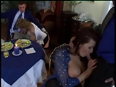 European Cougar Orgy with Mega big melons and Sexual Outfits