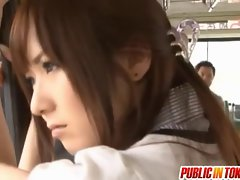 Yuu Asakura With A Shaft On The Bus
