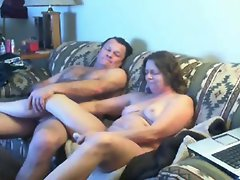 Watch mum and daddy home alone having fun. Hidden cam