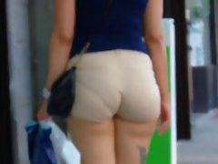Tense SHORTS WITH VPL