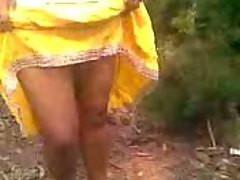 Tamil Lads with Babe in forest