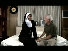 older man screws a nun