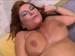 Redhead attractive mature Cute bbw get shagged in the butt