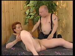 Redhead-Shorthair Filthy bitch banged by General von Midget