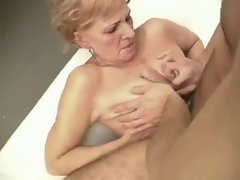 Seductive Fellow Rectal Fuck By Granny BVR