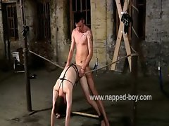 Jake Cody is bound and banged by Adam Watson