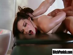 Stiff pecker Of Lewd Masseur Need Sensual Attractive Client To Ride clip-16