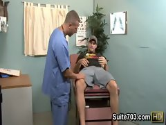 Alluring patient Phenix gets examined by attractive Roman only on Suite703