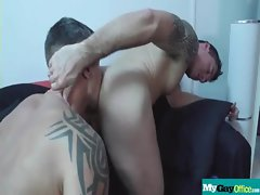 The Gay Office - Gay Rectal Sex &amp_ Phallus Massage Videos 21