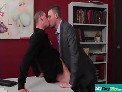 The Gay Office - Gay Asshole Sex &amp_ Pecker Massage Videos 17