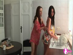 Seduced by Two Lezzy Housewives - Viv Thomas HD