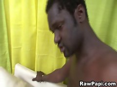 Latino Stroked A Black Enormous dick