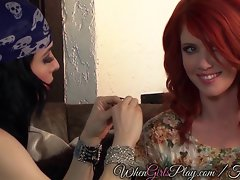 Luscious fortuneteller has sexual predictions