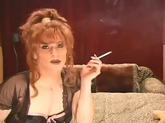 Two luscious CDs toying while smoking