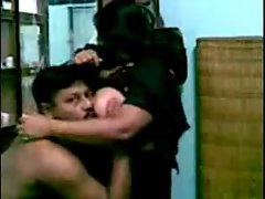 Chesty randy indian Aunty's Mega tits stroking by Neighbor