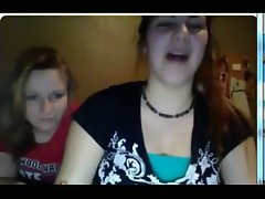 sassy teen webcam flash unbelievable reaction 2 slutty chicks