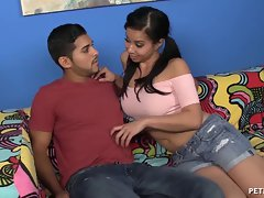 Attractive Asian Seductive teen Gets Banged