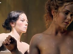 Naked of Spartacus - Anna Hutchison Ellen Hollman and co
