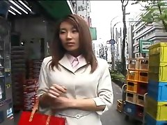 Alluring Seductive japanese chick and a day at work-by PACKMANS
