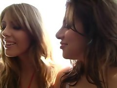 Backdoor Latin Sassy teen Crazy threesome action