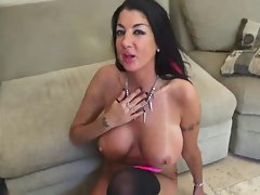 Dark haired Attractive mature Fantasic juggs