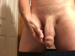 uncut prick in the morning