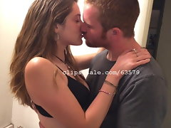 Joey and Britty Louise Smooching Flick 5