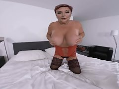 Thick red-haired Attractive mature