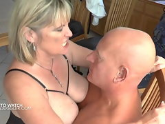 Made to witness a stranger fuck his Mrs