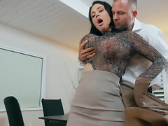 Nasty people having super nasty sex on the desk