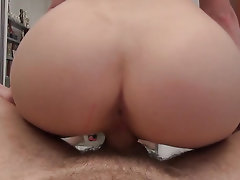 Porn audition of pretty Russian girl Alecia Fox with small tits