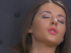Lonely girl has to masturbate reaching wonderful orgasm